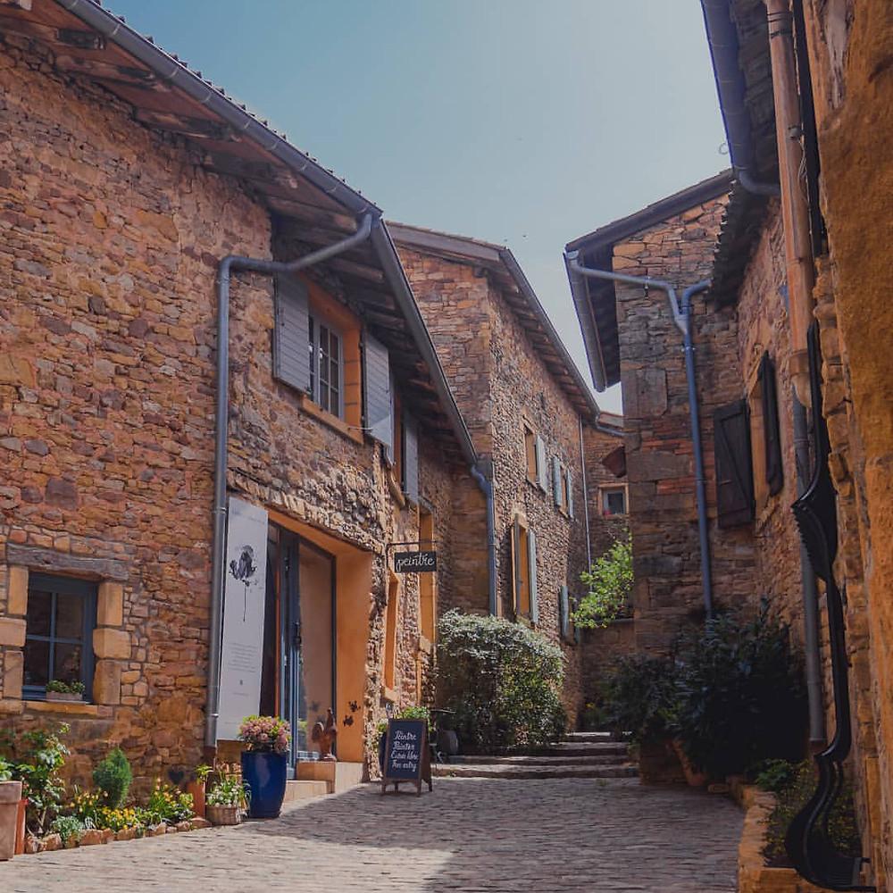 Village de Oingt que faire autour de Lyon pendant les fêtes