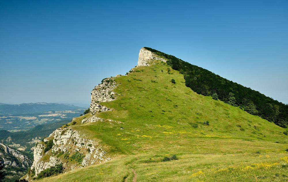 Les 3 becs Grand Colombier ain point de vue et randonnée incontournable de la Drôme