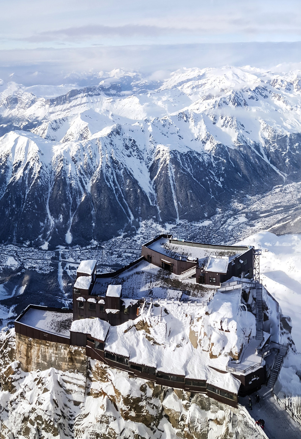Aiguille du midi plus beau lieu à visiter tourisme dans la région Auvergne-Rhône-Alpes