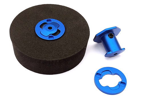 FingerTech Twist Hubs (pair) 3mm Shaft, .50 (Thin)