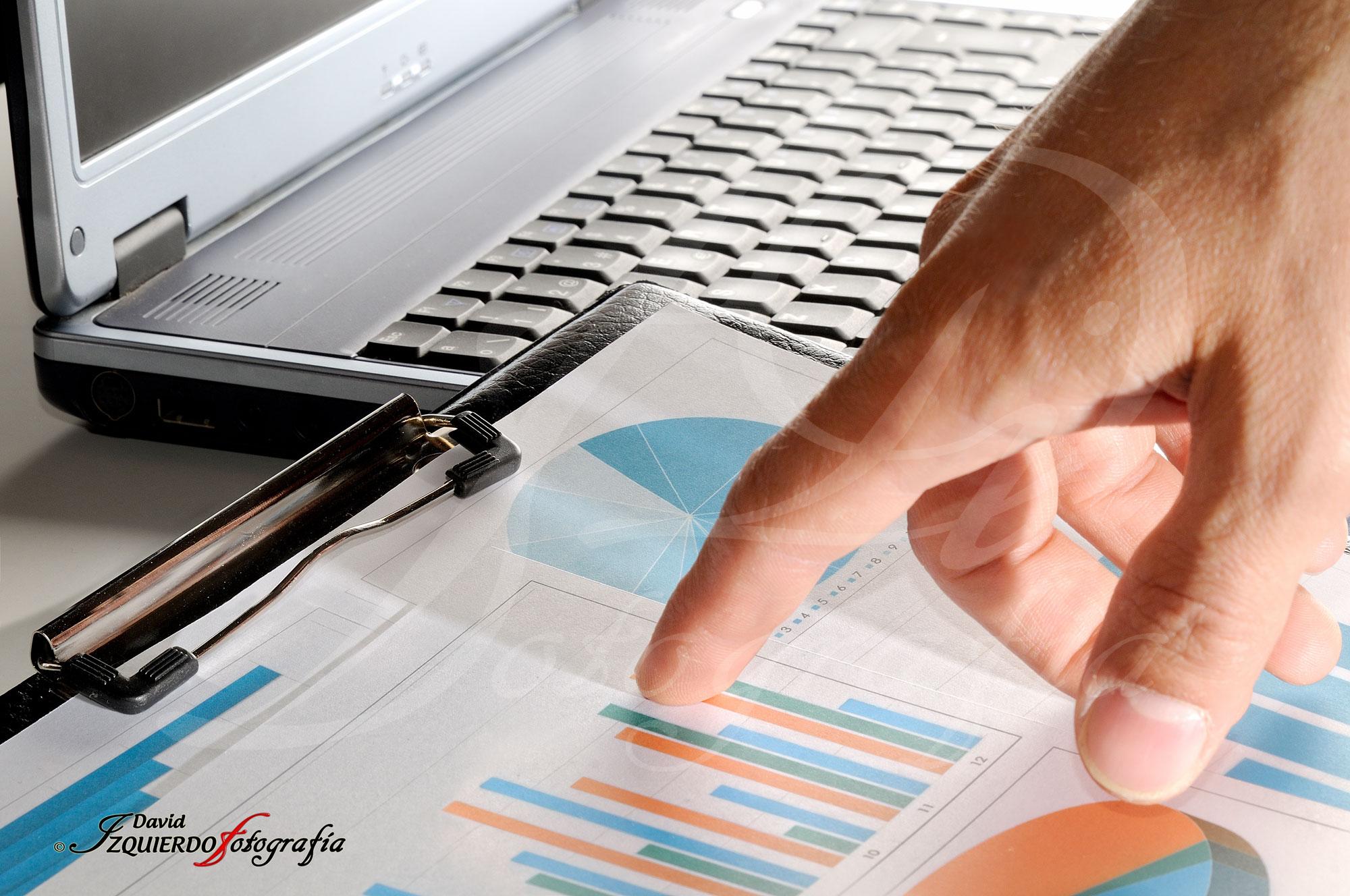 Analizando un gráfico, negocios