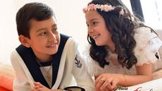 Comunión Nicolás y María