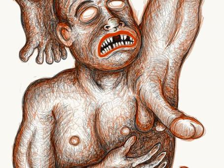 Weird Artwork,Dessin Étrange