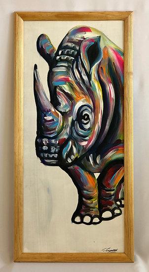 """""""African Rhino"""""""