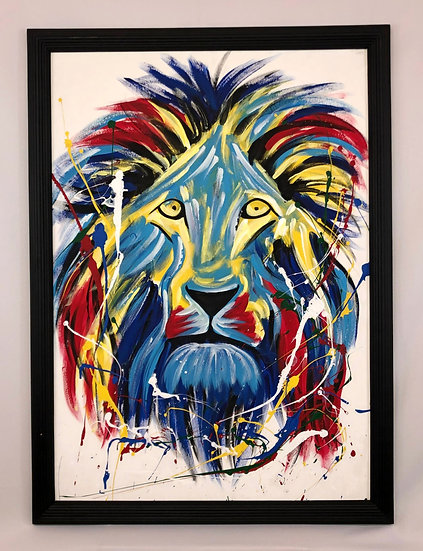 """Colorful Lion"""