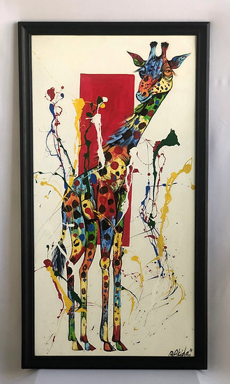 """Colorful Giraffe"""