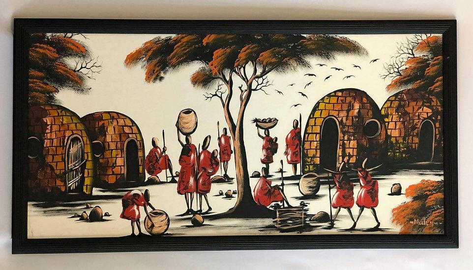 """The Masai Village"""