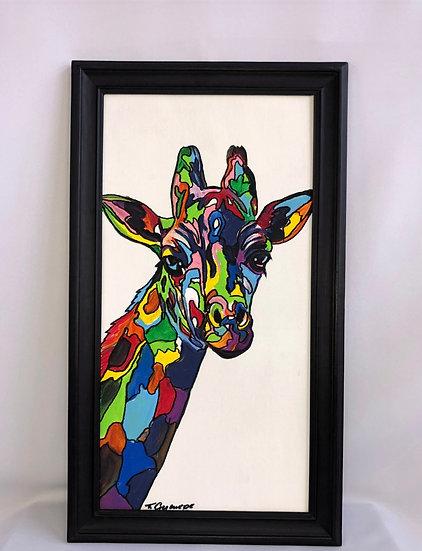"""Colorful Giraffe"""