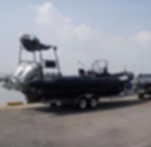 해군 해경 해수부 고속단정 제작