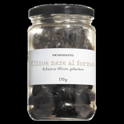 gebackene schwarze Oliven OLIVE NERE AL FORNO