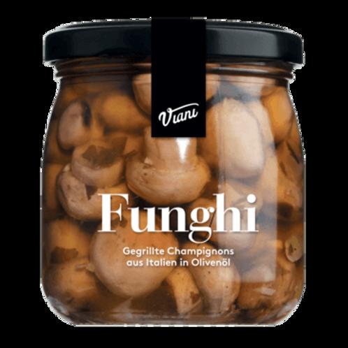 Gegrillte Champignons FUNGHI in Olivenöl