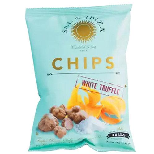Kartoffelchips mit weißen TRÜFFELN