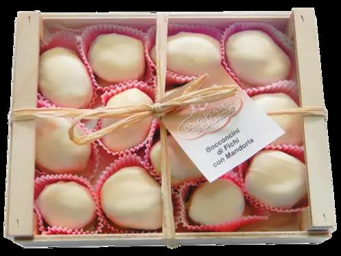 Feigen in weißer Schokolade BOCCONCINI DI FICHI