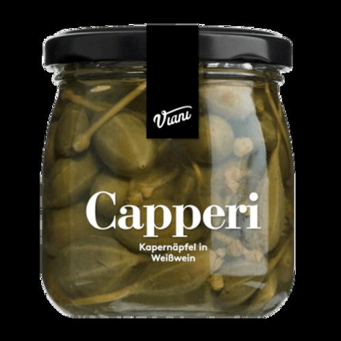 Kapernäpfel in Weißwein CAPPERI