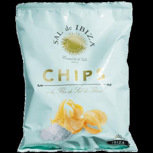 Kartoffelchips mit SAL DE IBIZA