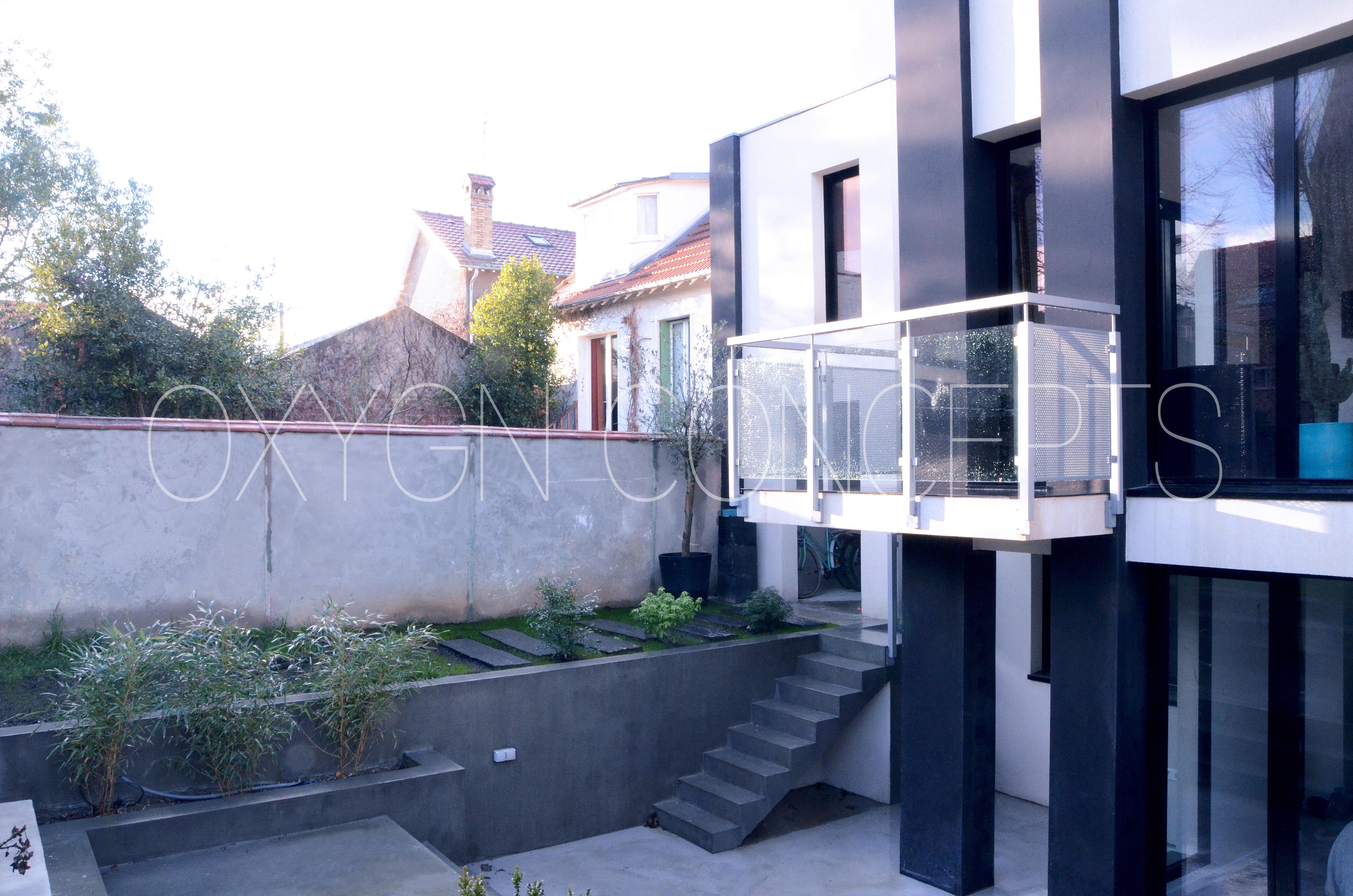 Extension de maison au Chesnay