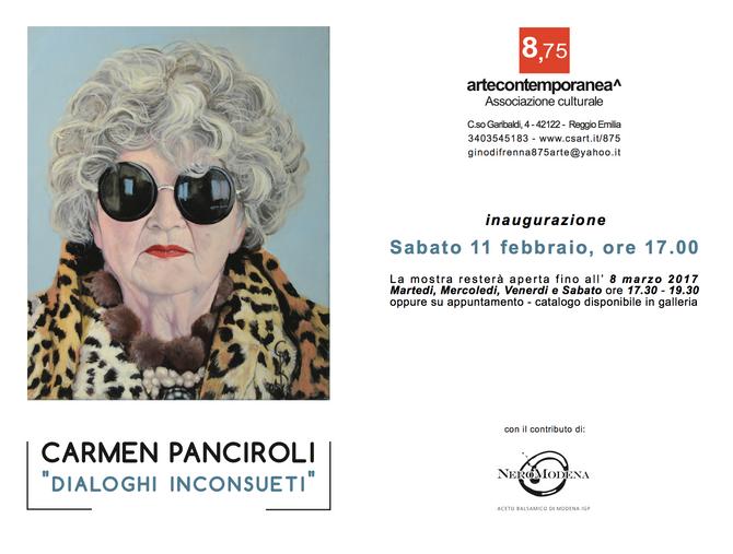"""""""Dialoghi inconsueti"""" in mostra alla galleria 8.75"""