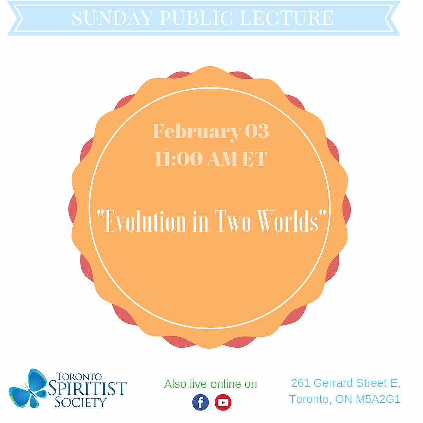 Public Lecture :: Evolution in Two Worlds
