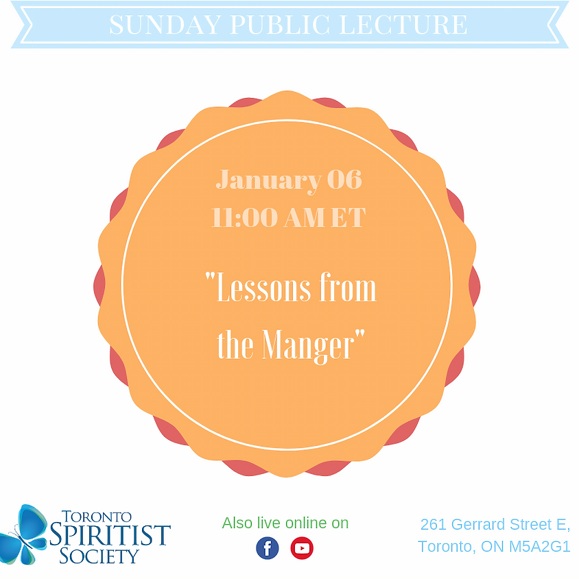 Public Lecture :: Lessons from  the Manger