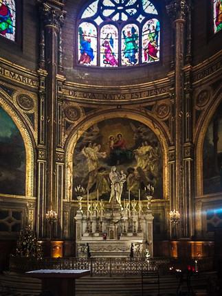 Chapelle de la Vierge, Saint Eustache, Paris