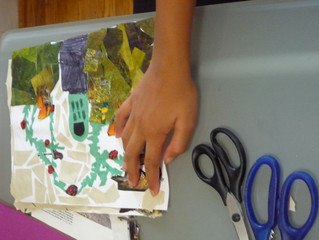 1st year of operation at Connect with Art Summer Camp