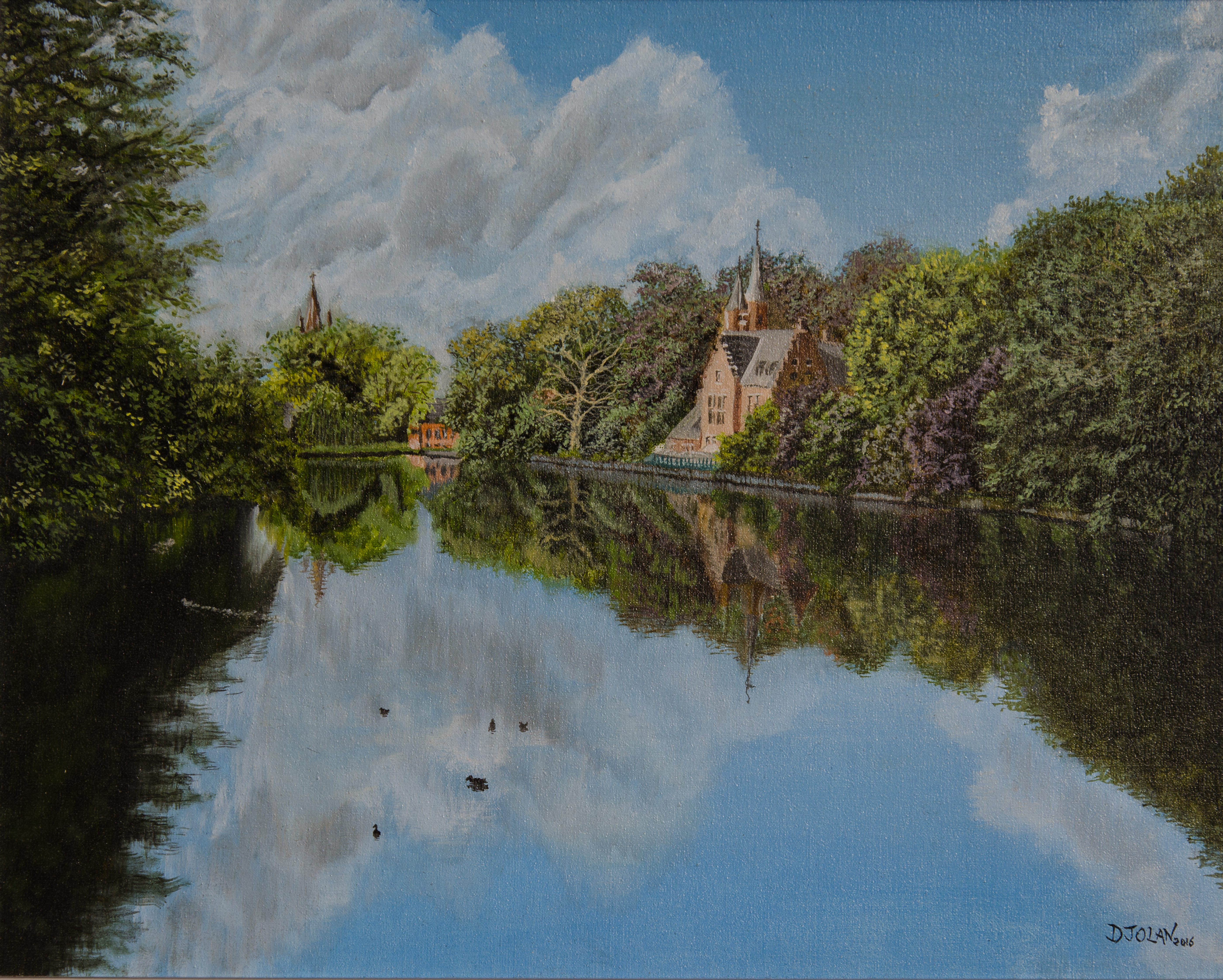 Lakehouse in Bruges