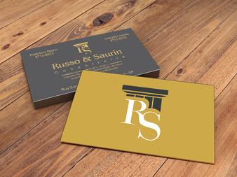 Identidade visual | Cliente Russo & Saurin Consultoria