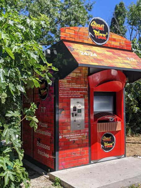 Des distributeurs automatiques de Pizzas à Marseille
