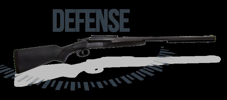 ESPINGARDA DOUBLE DEFENSE