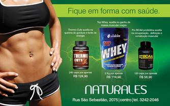 Anúncio revista   Cliente Naturales