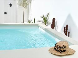 sUite piscine privée extérieure chauffée