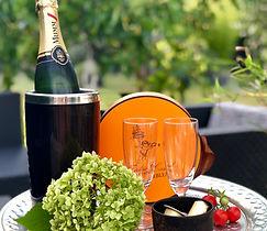 Champagne ruinart Frederic Cassel fontai