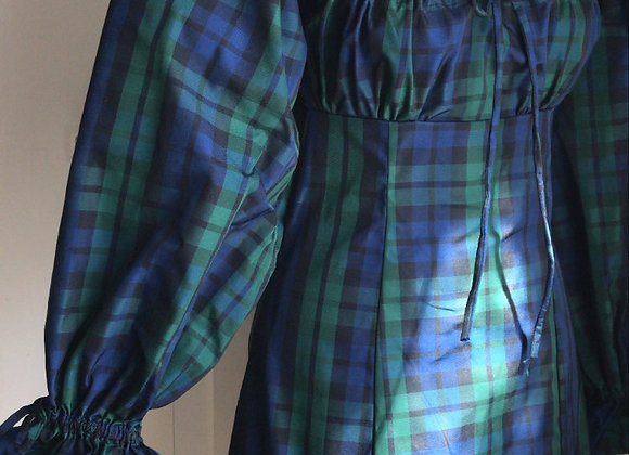 The Picnic in Silk Tartan Taffeta