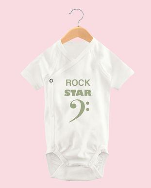 Rock Star Baby Body Mädchen