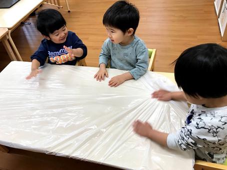 【製作】1歳児さん