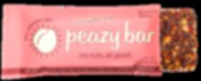 strawberry peazy bar