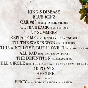 Nas: King's Disease Album Review