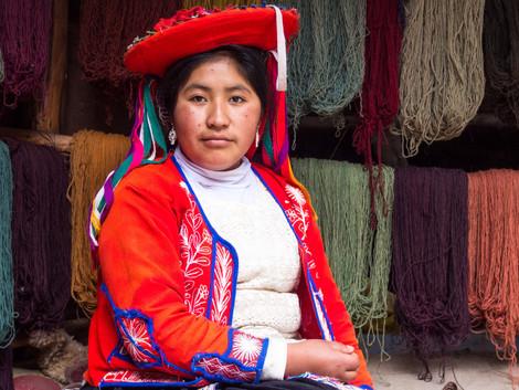 Quechuan Woman, Peru