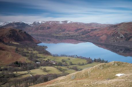 Winter views from Hallin Fell