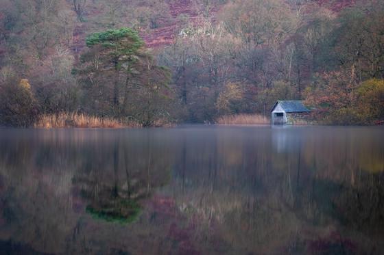 Autumn on Rydal Water