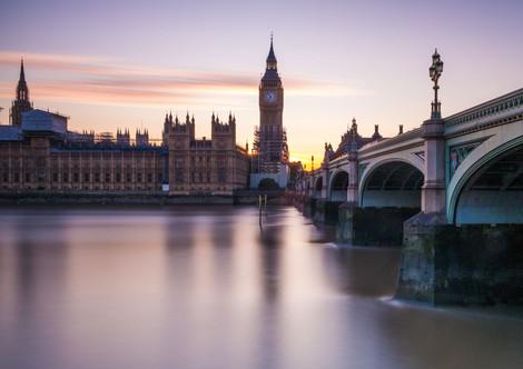 Sunset over Westminster