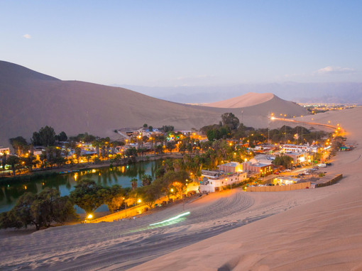 The Desert Oasis of Huacachina