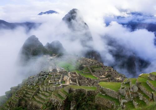 Clouds Over Machu Picchu