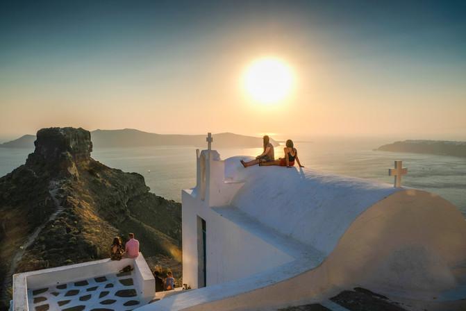 Skaros Rock, Santorini