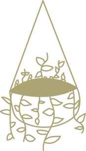 CIC Hanging Plant Icon gold
