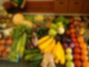 locally grown organic produce