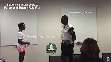 Student & Parent Role Play Student Financial Literacy