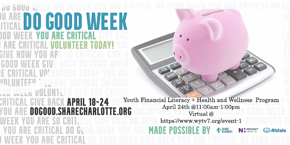 Sold Out! Youth Financial Literacy & Health & Wellness Seminar -Virtual