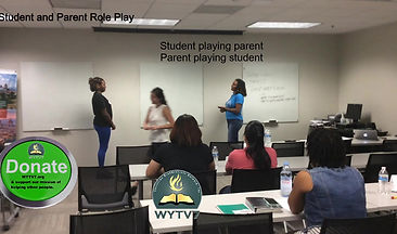 Student Financial Literacy Student & Parent Role Play
