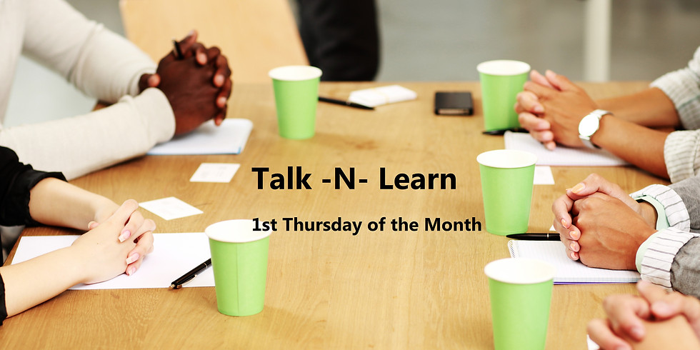 First Thursday of the Month Virtual Meet Up On Line